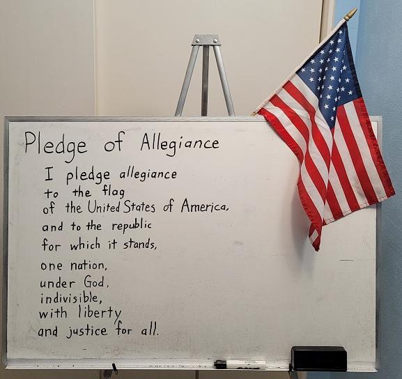 忠誠の誓い Pledge of Allegiance